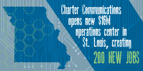 Charter Communications opens new operations center in St. Louis