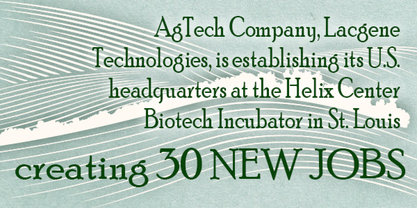 AgTech Company Lacgene Technologies establishes US headquarters in St. Louis