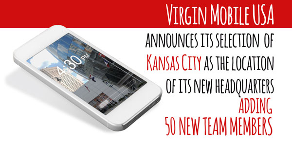 Virgin Mobile USA announces Kansas City as location of new headquarters