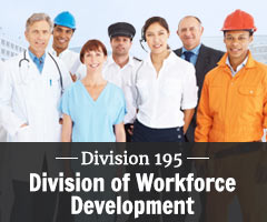 Division 195 - Division of Workforce Development