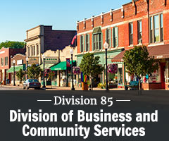 Division 85 - Division of Business and Community Services