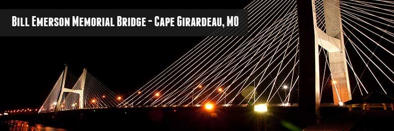 Bill Emerson Memorial Bridge - Cape Girardeau, MO