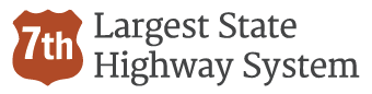 7th Largest State Highway System