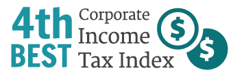 4th best corporate income tax index