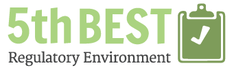 5th Best Regulatory Environment