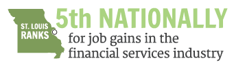 5th Nationally for job gains in the financial services industry
