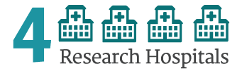 4 Research Hospitals