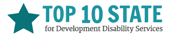 Top 10 State for Development Disability Services