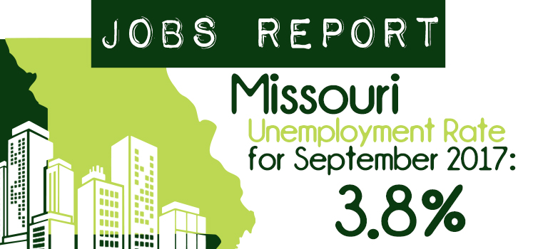 August Jobs Report. Unemployment rate 4.0%. MO's nonfarm payroll hits record level!