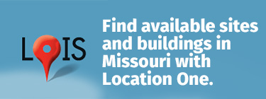 Find available sites and buildings in Missouri with Location One