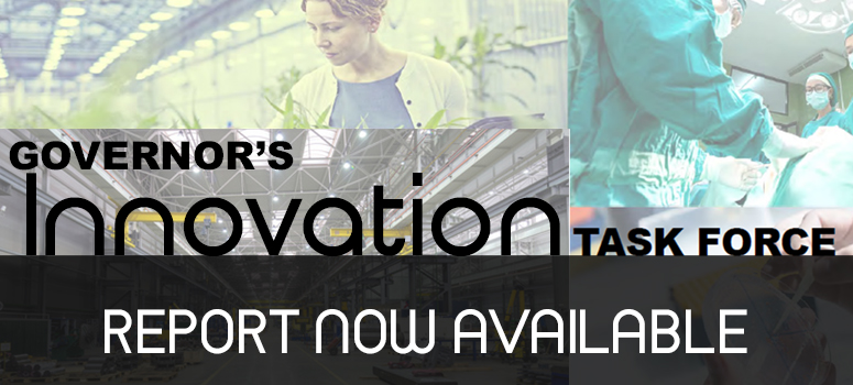 Governor's Innovation Task Force report now available.